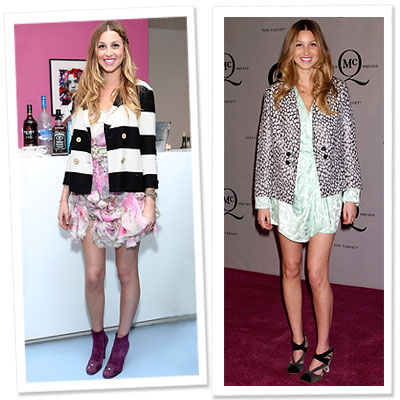 Whitney Port, Diane von Furstenberg, Fashion Week Best Dressed