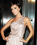 Victoria Beckham, Emporio Armani, One-Shoulder, Fashion Week Star Trends