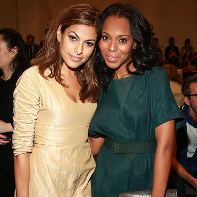 kerry washington boyfriend. Eva Mendes - Kerry Washington