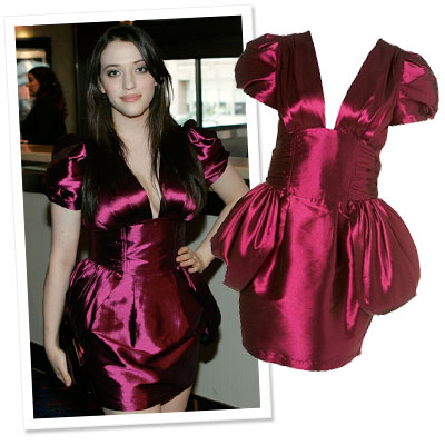 Buy Kat Dennings's Red Carpet Dress For $100!