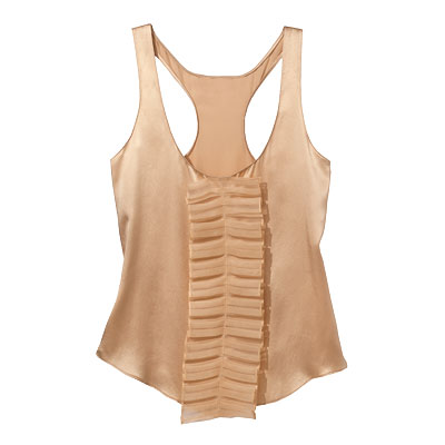 Nellie Partow - Silky - Spring Fashion Trends 2009 - Fashion - In Style :  spring tank silky nude