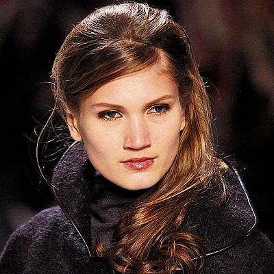 Best Runway Hairstyles. Pamella Roland. Hairstylist Paul Labrecque used