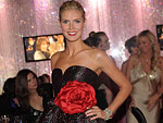 Heidi Klum, InStyle Viewing Party, Golden Globes 2009