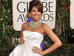 Eva Mendes, 2009 Golden Globes