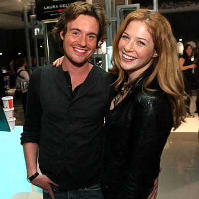Rachelle Lefevre with endearing, friendly, handsome, Boyfriend Jamie Thomas King