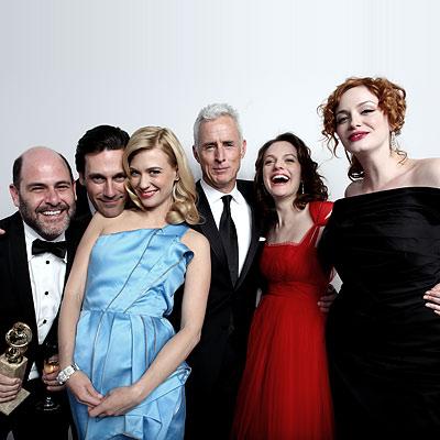 Fashion Style on Team Mad Men   2009 Golden Globe Winners  Portraits   Golden Globes