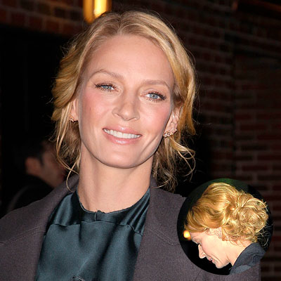 uma thurman hair. Uma Thurman-Hair Tip