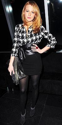 Blake Lively wearing DKNY