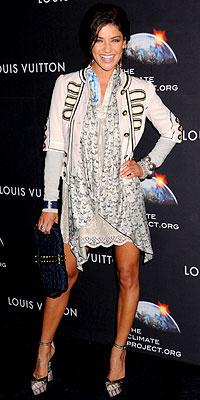 Jessica Szohr wearing DKNY