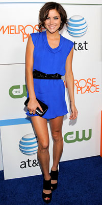 Jessica Stroup in Jenni Kayne (Buy it here!)