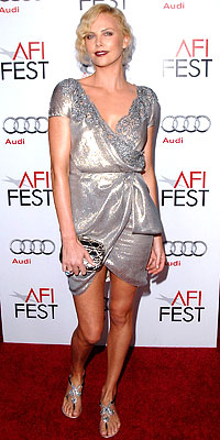 Look of the Day - Fashion - In Style :  charlize a festive afi