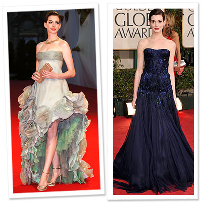 Anne Hathaway, Atelier Versace, Armani Prive
