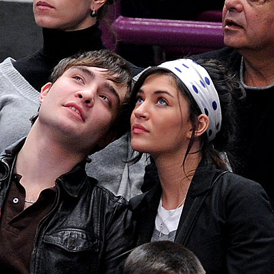 jessica szohr and ed westwick. altTag Ed Westwick and