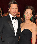 Brad Pitt and Angelina Jolie, Oscars 2009