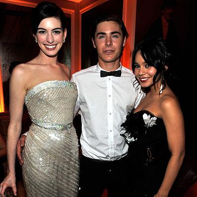 Anne Hathaway Oscars 2009. Anne Hathaway in Armani Prive,
