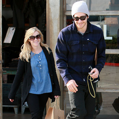 After cheering for the Lakers earlier this week, Reese Witherspoon and Jake