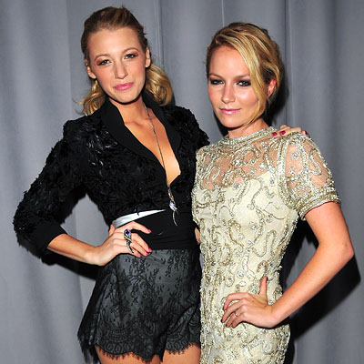 Blake Lively Summer Style on Blake Lively And Becki Newton