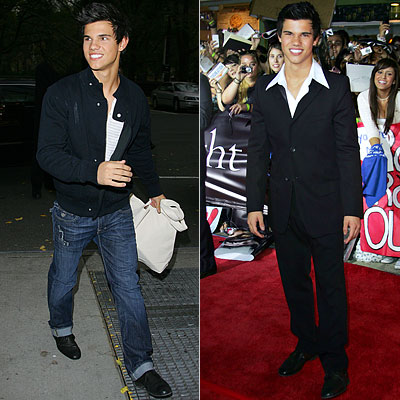 Taylor Lautner, Twilight Style Poll
