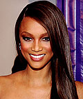 Tyra Banks, Pantene Pro-V Body Builder Volumizing Gel, Phyto Defrisant straightening balm, styling products