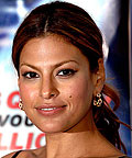 Eva Mendes, blush, powder
