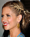 Sarah Michelle Gellar, hair, Bumble & Bumble Surf Spray, styling products