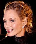 Uma Thurman, hair accessories