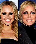 Hayden Panettiere, Sharon Stone, MAC Cosmetics Royal Assets Smoky Eye Palette, eye shadows