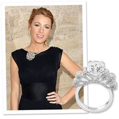 What&#039;s Right Now: Blake Lively&#039;s Show-Stopping Chanel Ring
