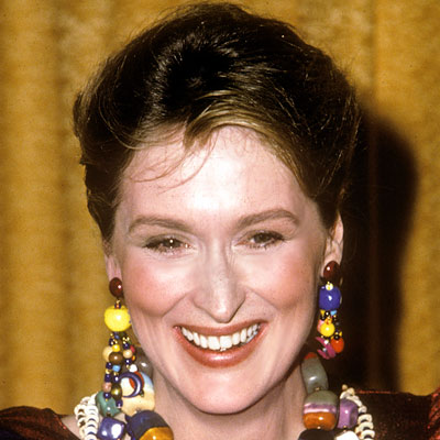 Meryl Streep - Transformation - hair and makeup