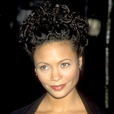 Thandie Newton - Transformation - Hair - Celebrity Before and After
