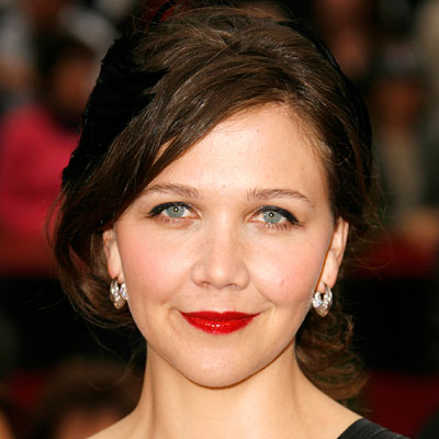 Maggie Gyllenhaal - transformation - hair and makeup