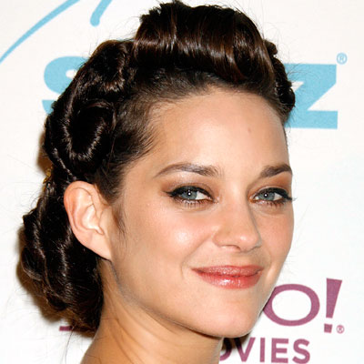 Marion Cotillard - Transformation - hair and makeup