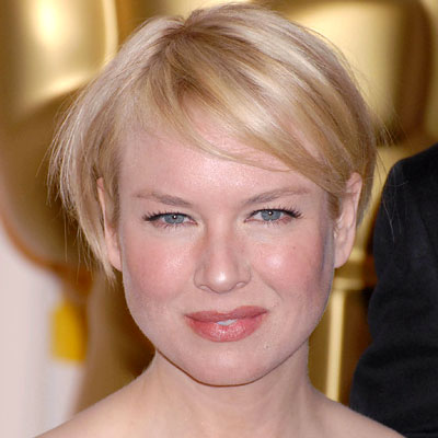 Renee Zellweger, transformation, short hair, celebrity hair, celebrity beauty