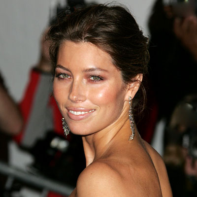 Jessica Biel- Transformation - hair and makeup