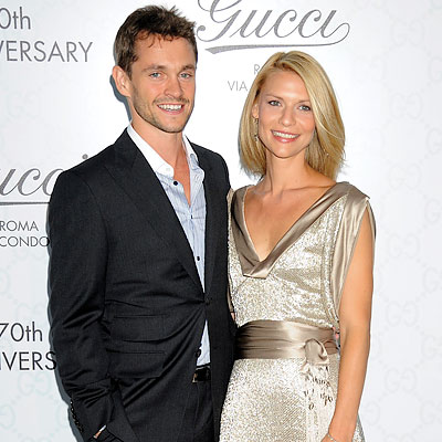 Hugh Dancy with beautiful, Wife