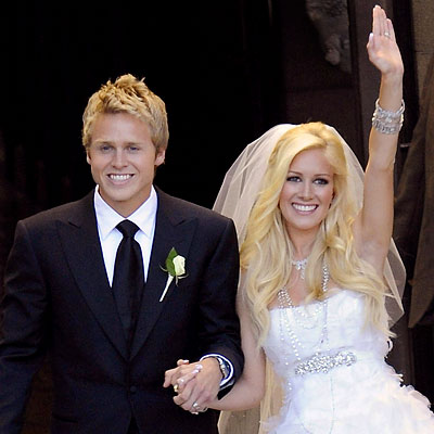 heidi montag wedding photos. Heidi Montag and Spencer