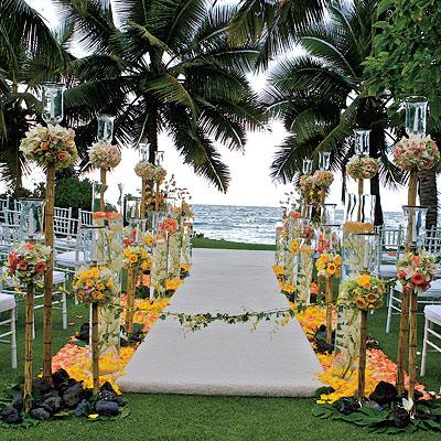 Hawaiian Island Wedding Plannerssunflower Wedding Theme