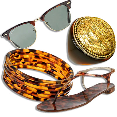 Tortoise Accessories, What's Right Now, Blu Bijoux, Casadei, Ringseclectic, Ray-Ban