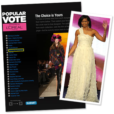 Vote Now For Your Favorite Designer
