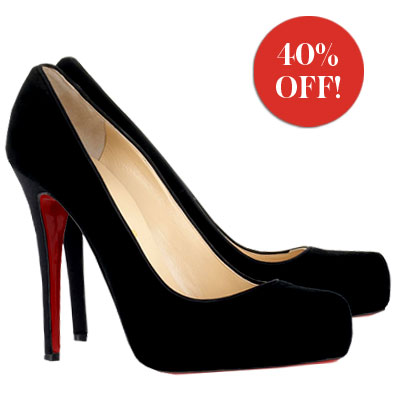 Christian Louboutins Majorly Marked-Down