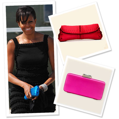 Michelle Obama's Date Night Clutch