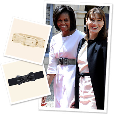Michelle Obama - Carla Bruni-Sarkozy - Belts - Dress by Body Type - Fashion News