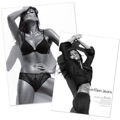 Eva Mendes - Calvin Klein - Brooke Shields - Kate Moss - Designer News