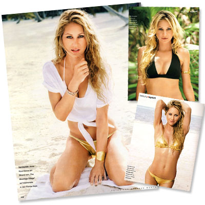 Anna Kournikova - Photos - Celebrity News - Celebrity Workouts