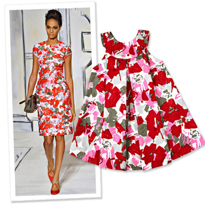 Oscar de la Renta - Children's Defense Fund - limited edition dresses