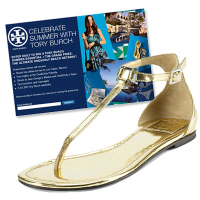 Tory Burch - Sweepstakes - One&Only Pamilla Resort