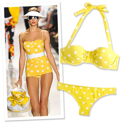 Michael Kors - J. Crew - bikini sale
