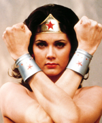 Demi Moore - Wonder Woman - Cuffs