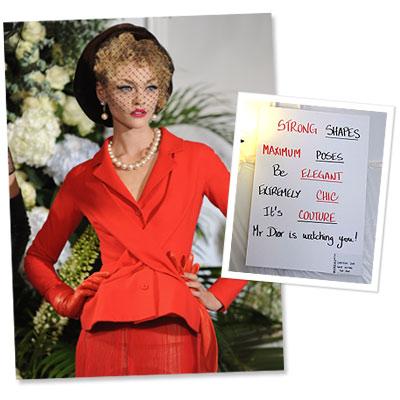 Christian Dior - Couture - Supermodel