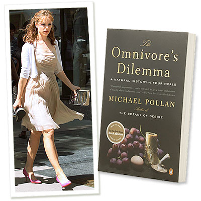 What's Right Now - Rachel McAdams Digs Into The Omnivore's Dilemma